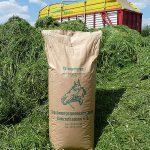 Qualitätstrocknung Nordbayern eG - Sack mit Heucobs
