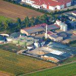 Luftbild der Trocknung Wechingen