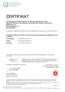 Zertifikate Ellingen, Gunzenhausen, Röckersbühl, Wechingen, Windsbach