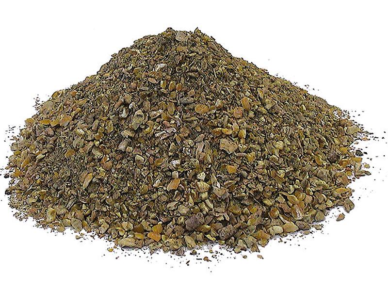 gemahlenes Getreide - mit unseren fahrbaren Mahl- und Mischanlagen