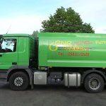 Fahrzeug für Rapsöl der Qualitätstrocknung Nordbayern eG in Gunzenhausen