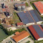Luftbild der Trocknung Windsbach