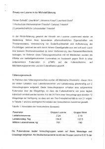 Fütterungsversuch Triesdorf